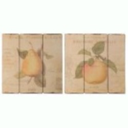 Uttermost French Fruit Wall Art, S/2 - 51080