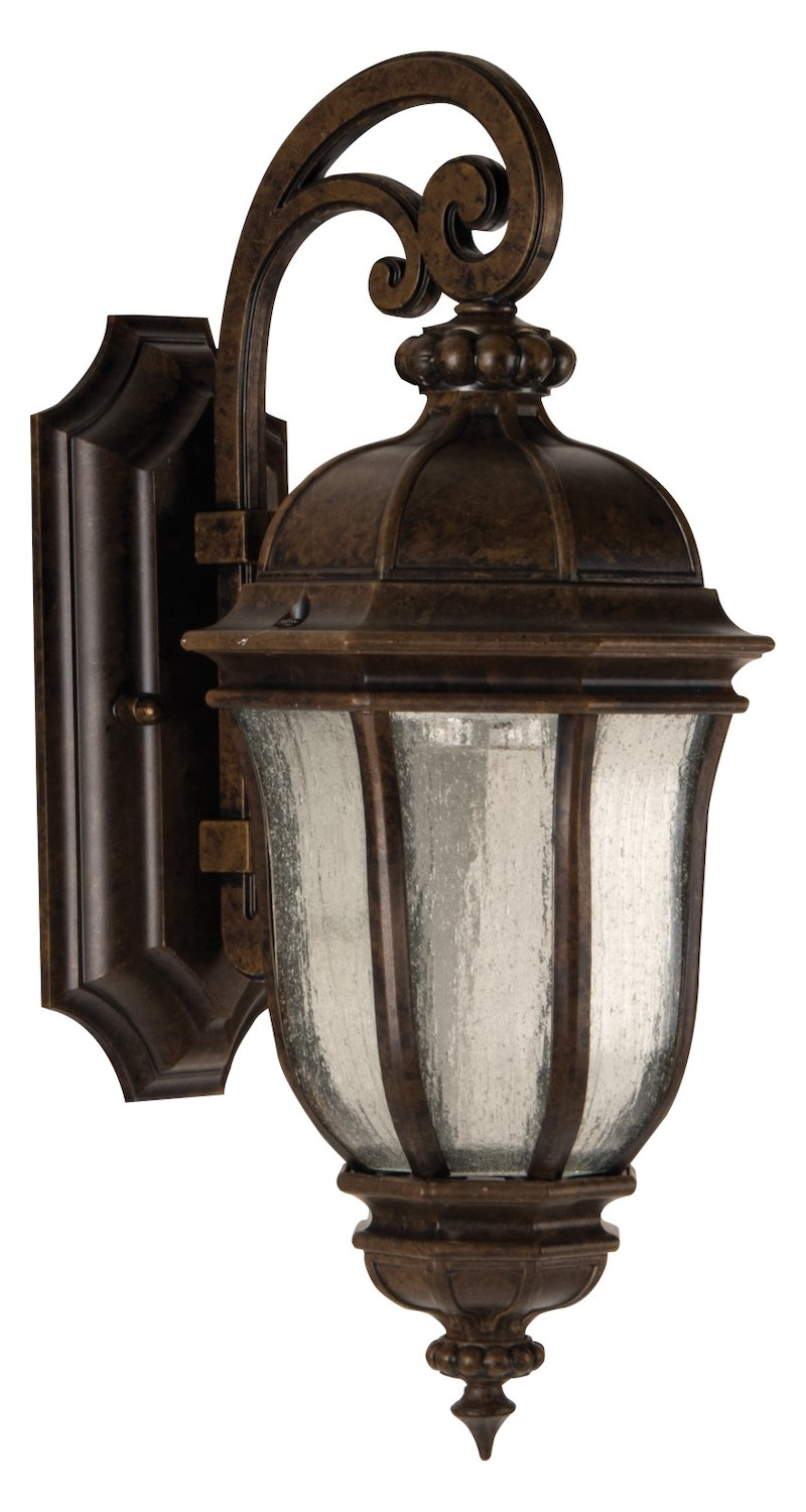 Led Bronze Wall Sconces : Craftmade Peruvian Bronze Harper 1 Light LED Outdoor Wall Sconce - 7.5 Inches Wide Peruvian ...