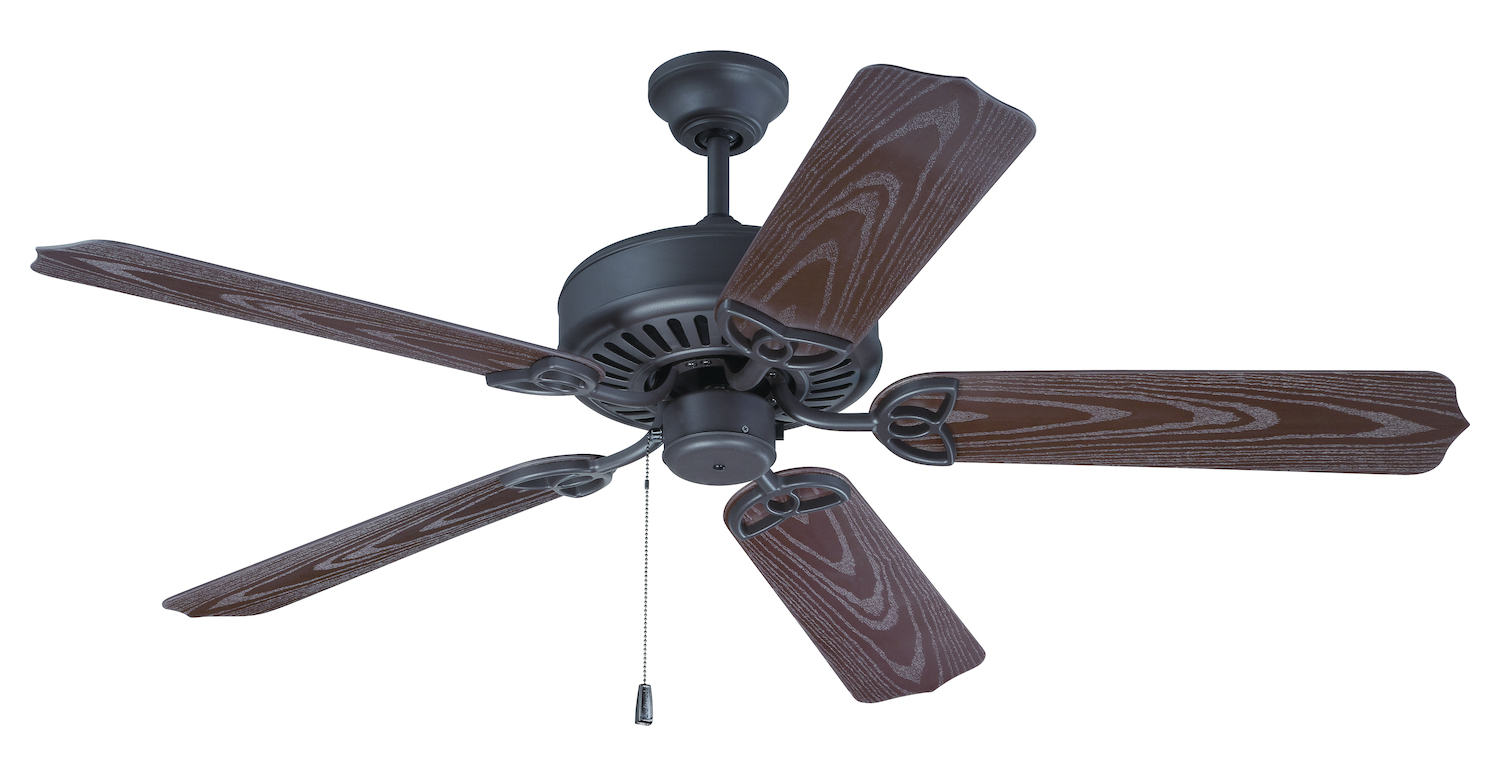 Craftmade Brown Outdoor Patio Fan 52in 5 Blade Outdoor