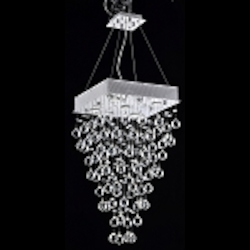 Raindrop Swarovski Crystal Modern Ceiling Mount Chandelier  Raindrop Chandeliers & Modern Crystal Light Fixtures - We ...