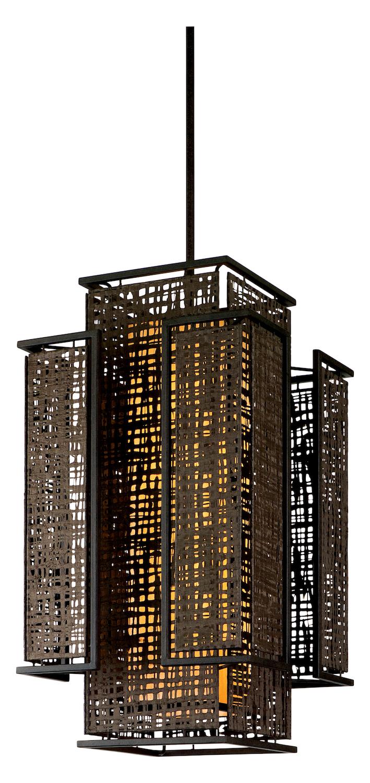 Open Frame Foyer Light : Corbett four light bonsai bronze open frame foyer hall