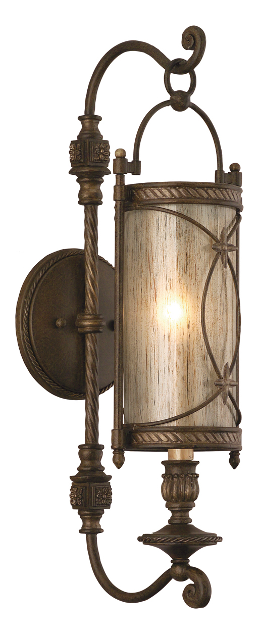 Wall Sconces Bronze Finish : Corbett Moritz Bronze Finish St. Mortiz 1 Light Lantern Wall Sconce Moritz Bronze 67-11 From St ...