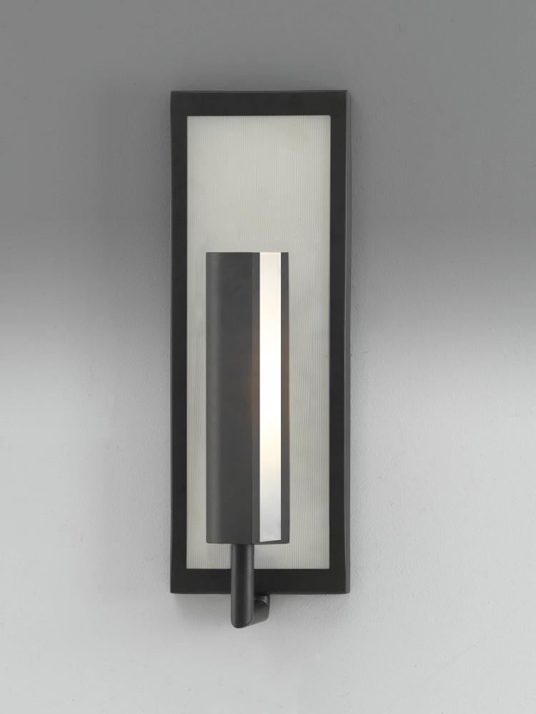 Feiss One Light Oil Rubbed Bronze Wall Light Oil Rubbed Bronze WB1451ORB From Mila Collection