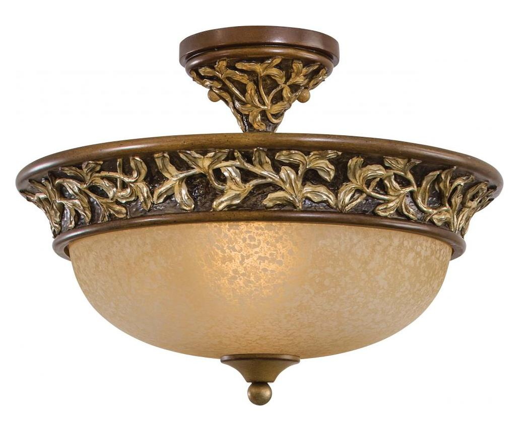 minka lavery salon grand semi flush mount in florentine