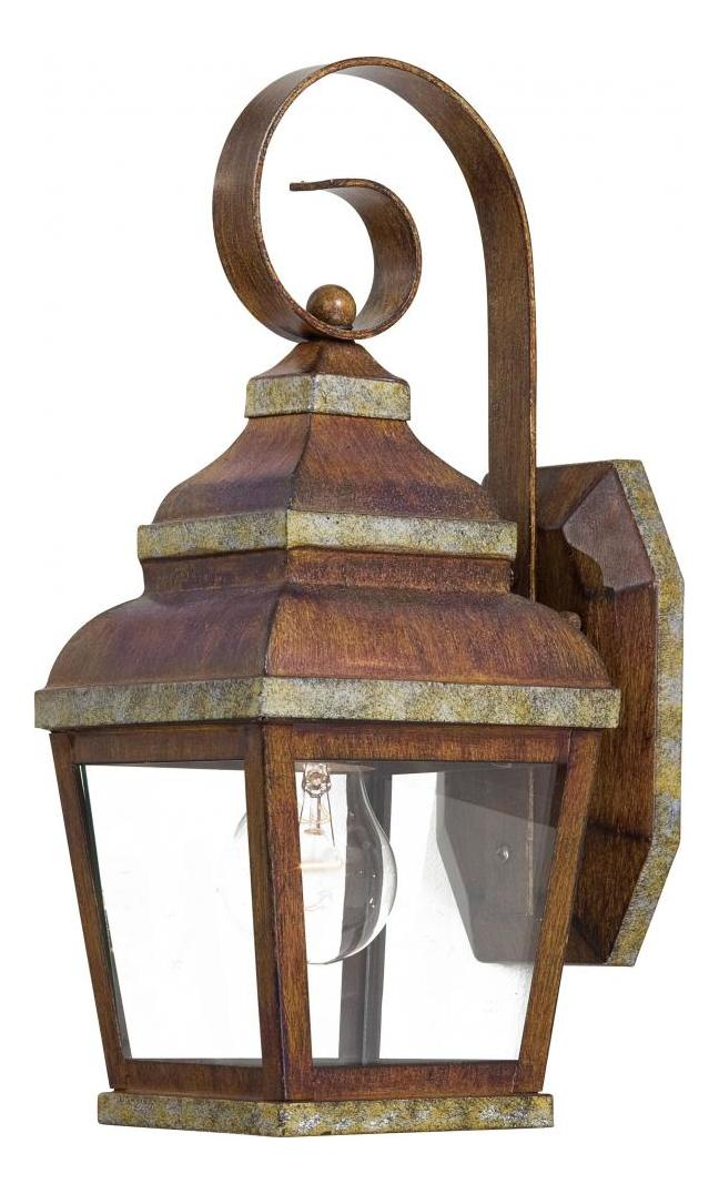 Minka-Lavery 1 Light Outdoor Wall Sconce With Mossoro Finish Bronze 8261-161 From Mossoro Collection