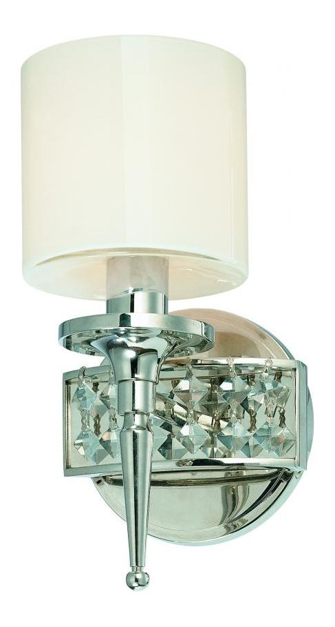Bathroom Wall Sconces Polished Nickel : Troy One Light Polished Nickel Bathroom Sconce Polished Nickel B1921PN From Collins Collection