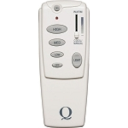 Quorum International Ceiling Fan Remote with Receiver and Light Dimmer Control, Reverse Function and Temperature Sensor 7-1401-0