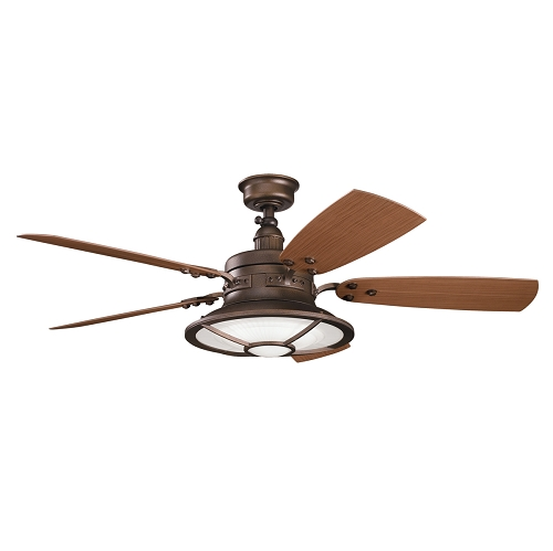 """Harbour Walk Patio Collection 52"""" Weathered Copper Ceiling"""
