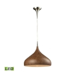 ELK Lighting Pendant - 31442/1BW-LED