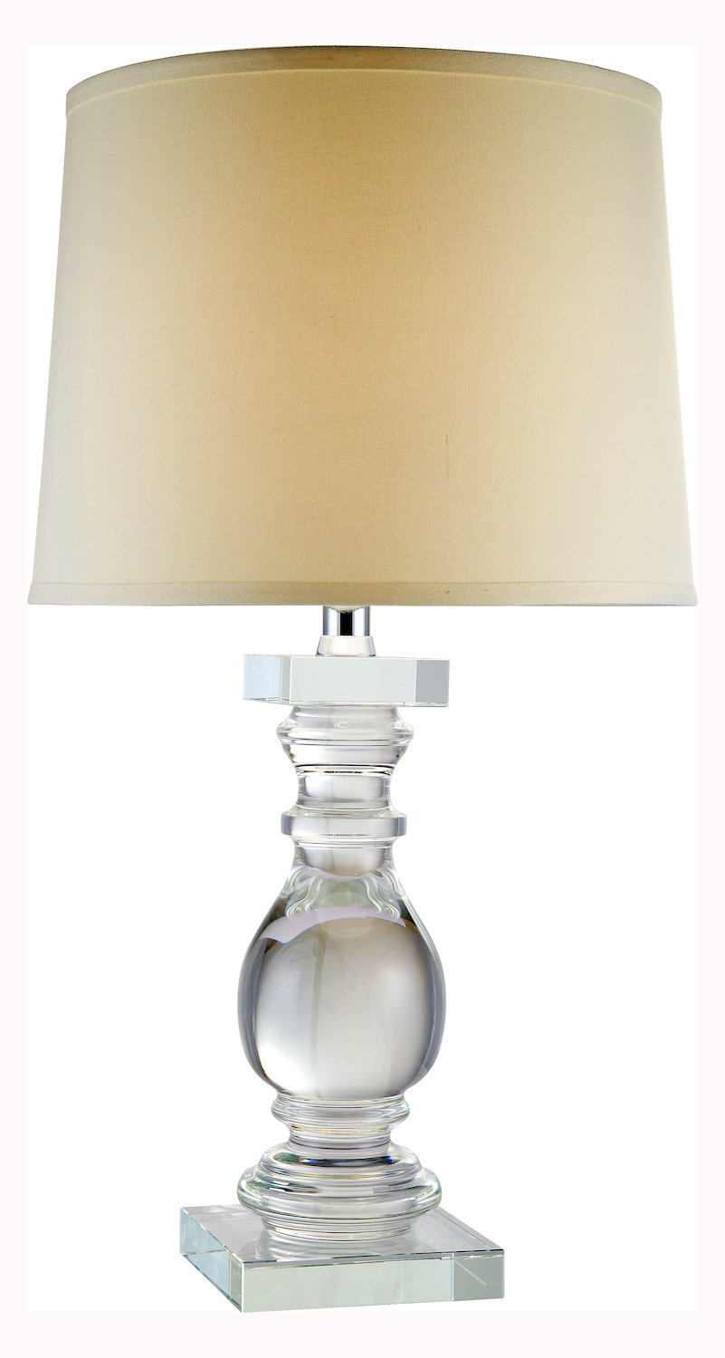 Urban Classic Regina Collection Table Lamp Chrome Tl1007