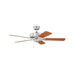 Kichler Brushed Stainless Steel Ceiling Fan - 330100BSS