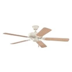 "Sterling Manor Collection 52"" Adobe Cream Ceiling Fan with Reversible Adobe Cream/Maple Blades 339010ADC"
