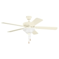 "Sterling Manor Collection 52"" Adobe Cream Ceiling Fan with Reversible Adobe Cream/Maple Blades 339210ADC"