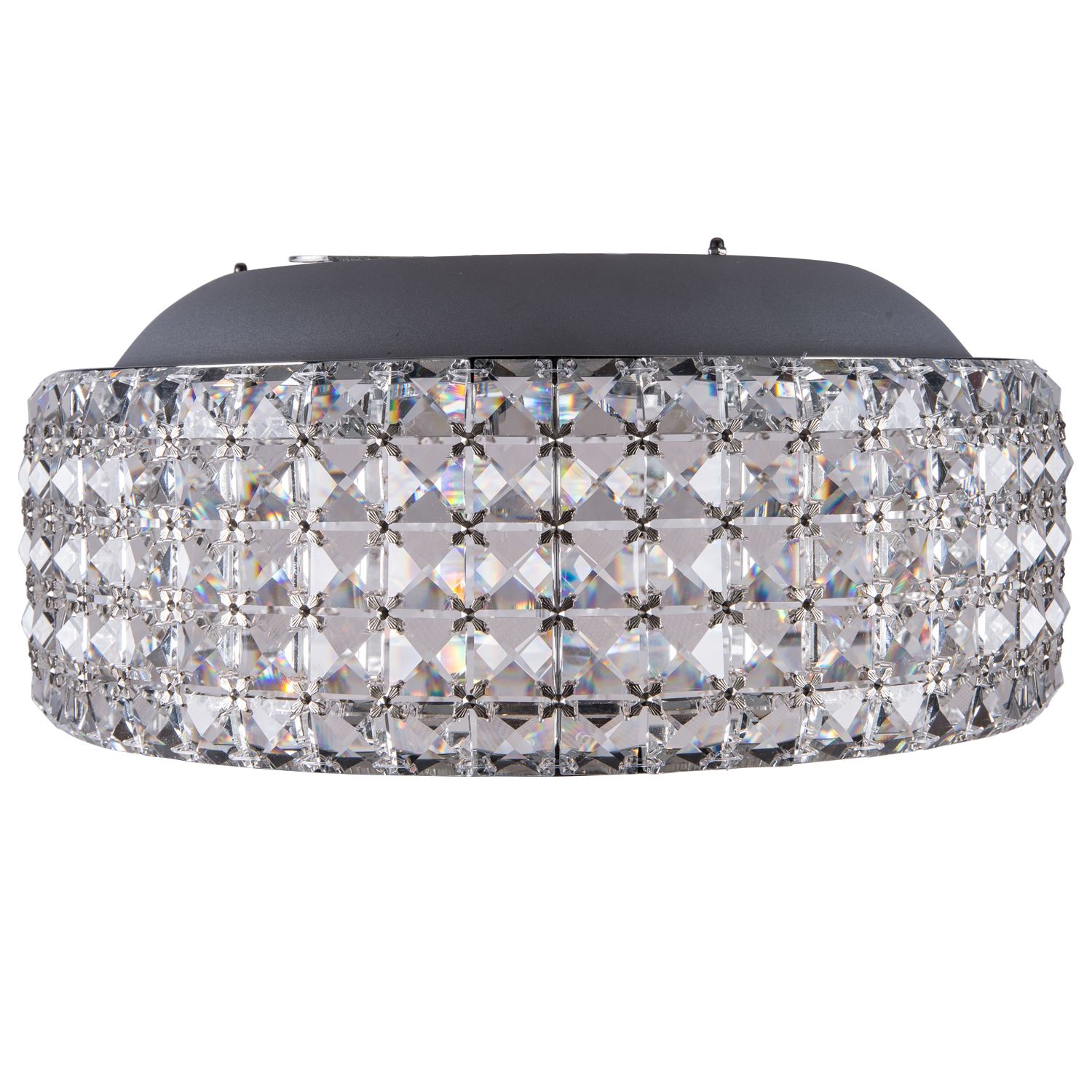 Joshua Marshal 700053 001 8 Light Flush Mount Light In