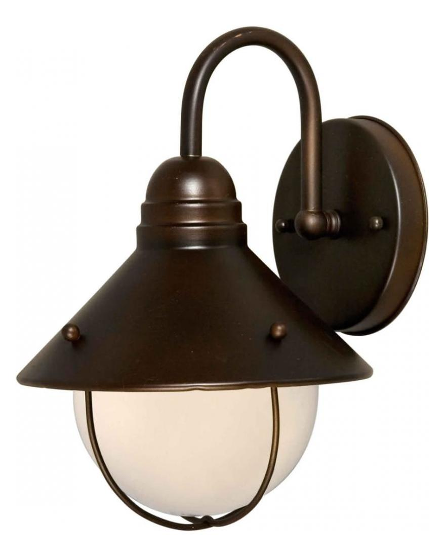 Forte One Light Antique Bronze Outdoor Wall Light Antique Bronze 1041-01-32 From 14 Collection
