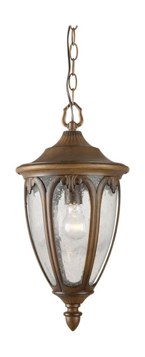 forte one light rustic outdoor pendant rustic