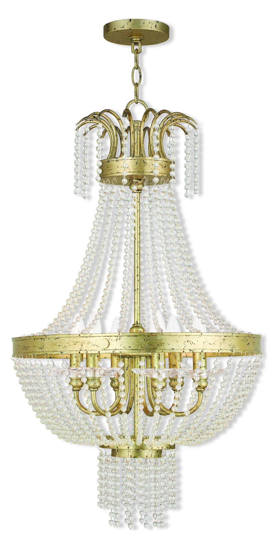 Livex Lighting Pendant Light Gold Gold 51856 28