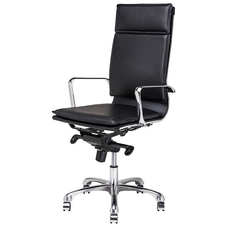 nuevo black high back armchair carlo office chair hgjl304. Black Bedroom Furniture Sets. Home Design Ideas