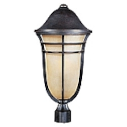 Westport Collection Artesian Bronze finish Outdoor Post Light - 40100MCAT