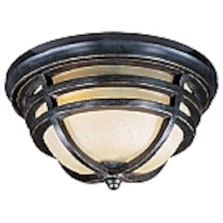Westport Collection Artesian Bronze finish Outdoor Flush Mount - 40109MCAT