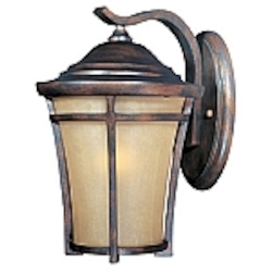 Balboa Collection Copper Oxide finish Outdoor Wall Light - 40163GFCO