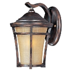 Balboa Collection Copper Oxide finish Outdoor Wall Light - 40164GFCO