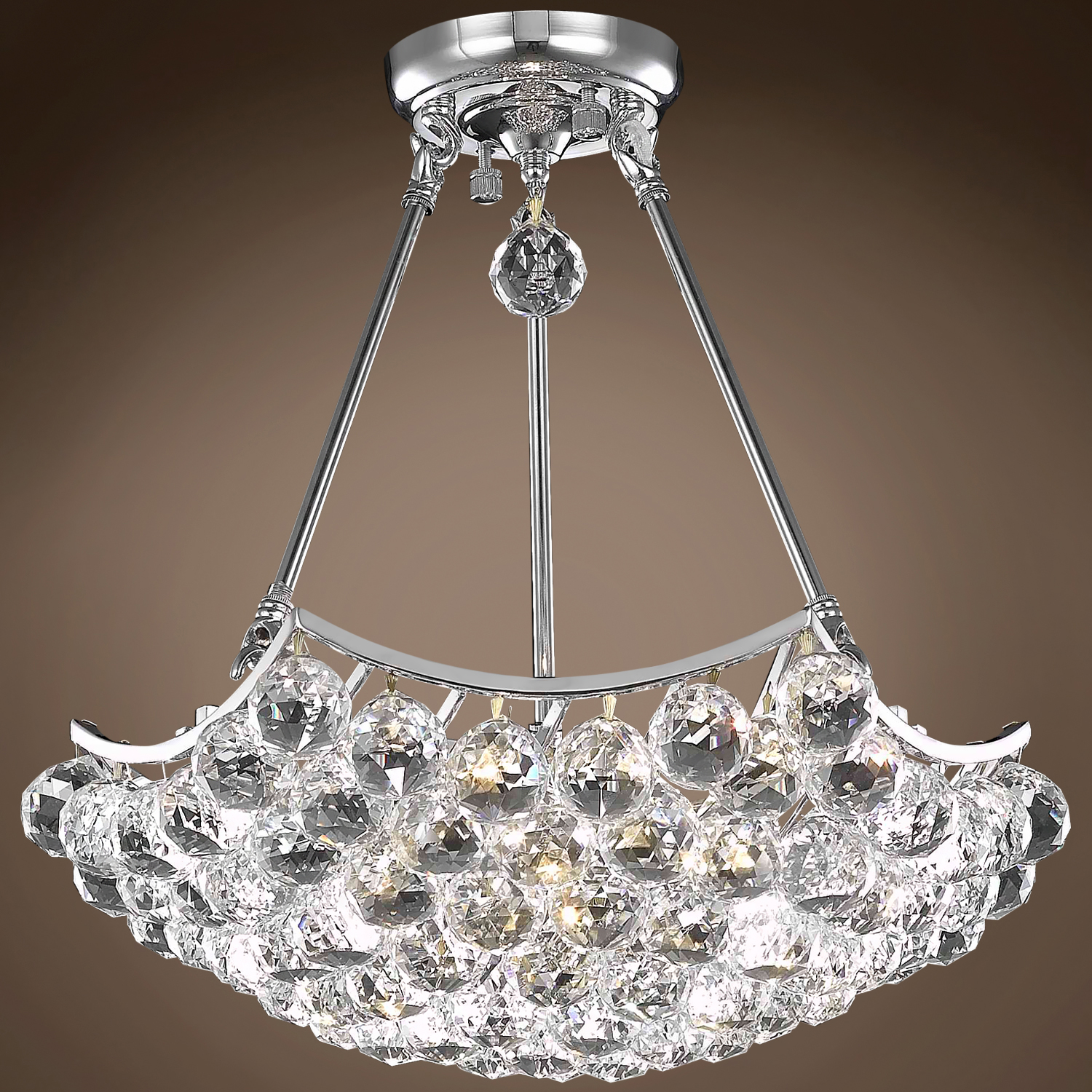 18 Light Chandelier Gold Finish With European Crystals