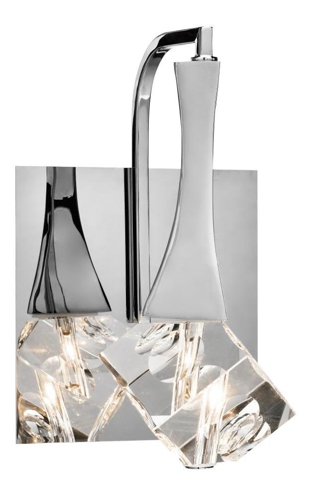 Elan Chrome Rockne 1 Light Bathroom Sconce Chrome 83135 ...