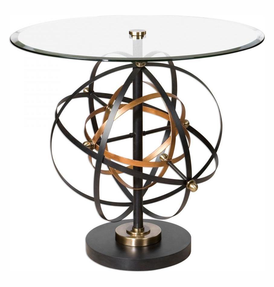 Uttermost Colman Sphere Accent Table Orbital Spheres In