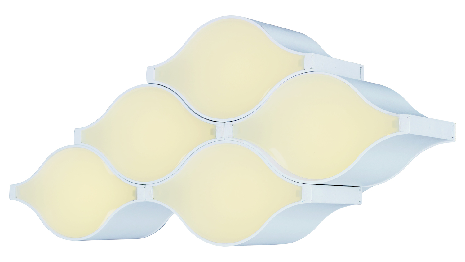 Et2 Billow Led Wall Ceiling Mount Matte White E24120 Mw