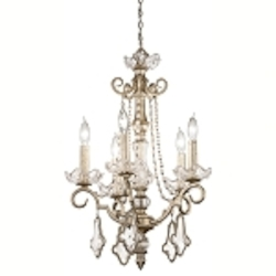 "Gracie Collection 5-Light 25"" Sunrise Mist Crystal Chandelier 42115SRM"