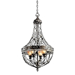 Marchesa Collection Pendant with a Terrene Bronze Finish - 42230TRZ