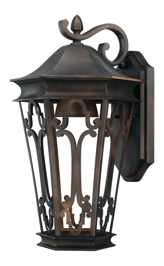 Capital Old Bronze Townsende 1 Light Outdoor Wall Sconce