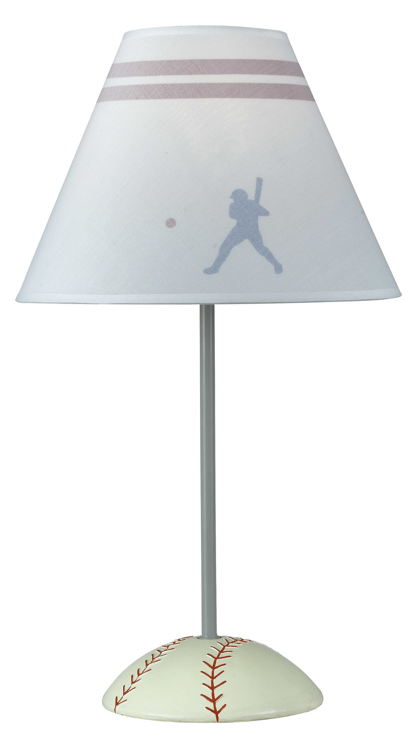 Cal Lighting 60w Baseball Lamp Bronze Bo 5683 From
