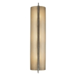 "Clarte Collection 3-Light 21"" Patina Iron Wall Sconce with Deep Spumanti Lace Glass 4393-573"