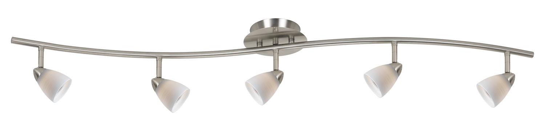 Cal lighting 5 light orbit light 120v gu 10 50w fixture for Orbit michael metal floor lamp brushed steel