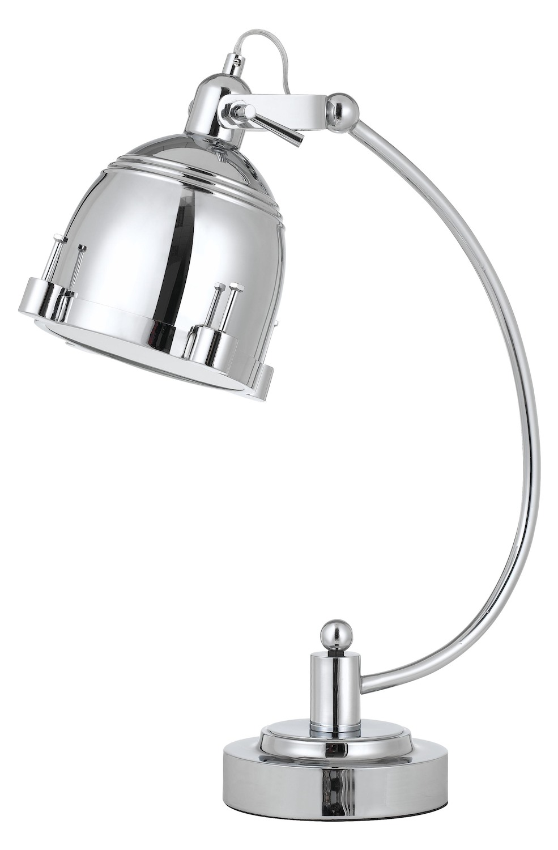Cal Lighting 60w Hubble Metal Adjustable Desk Lamp In