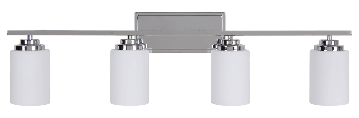 Vanity Lights Craftmade : Craftmade 4 Light Vanity Chrome 39704-CH From Albany Collection