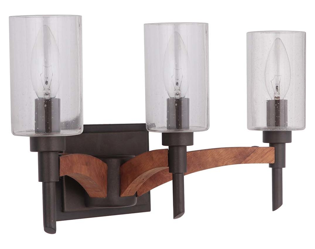 Craftmade 3 Light Vanity Light 40303-ESPWB From Tahoe Collection