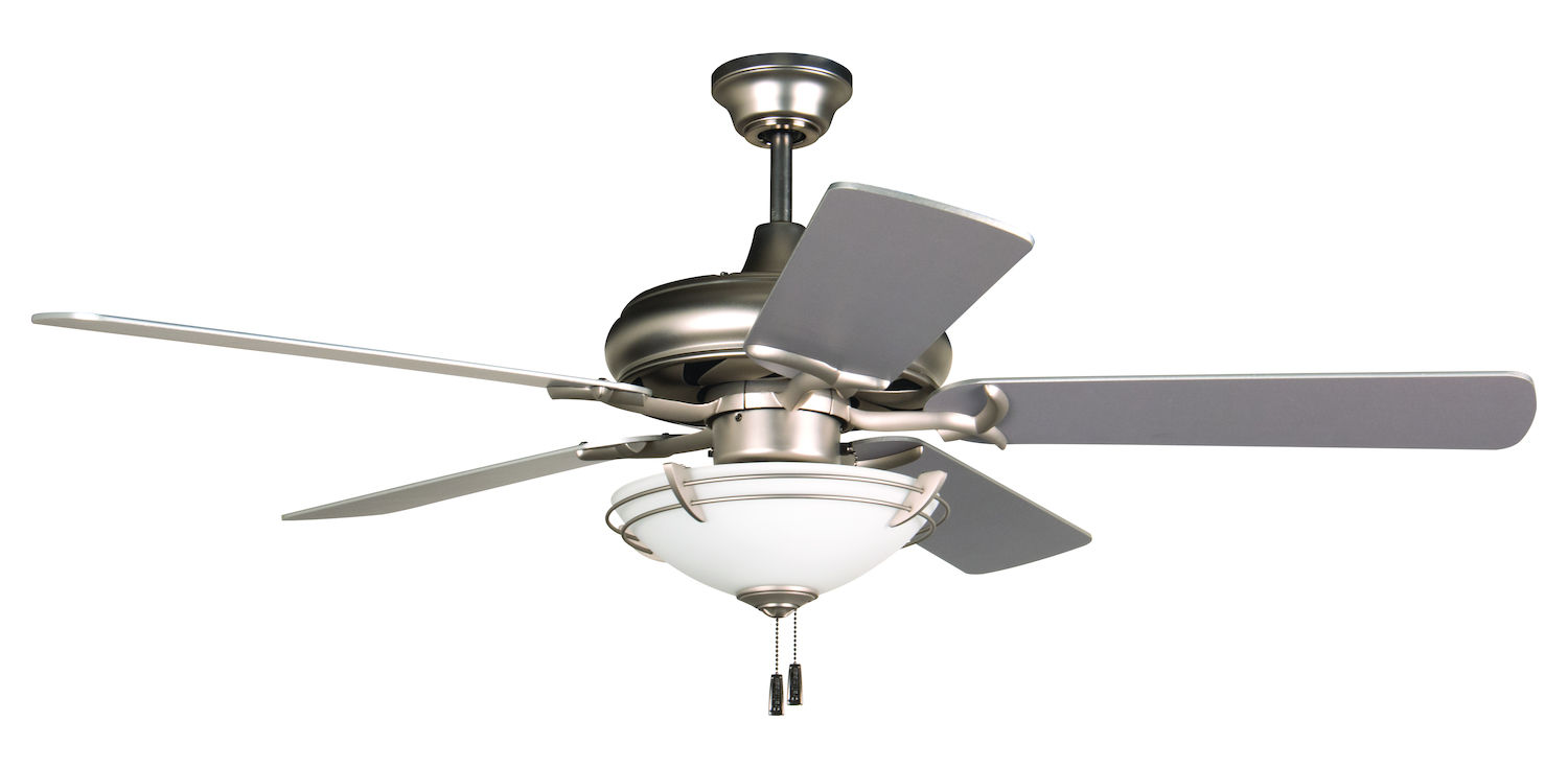 craftmade 52 ceiling fan with light kit and blades included wood. Black Bedroom Furniture Sets. Home Design Ideas
