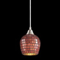 528-1CPR - Fusion Collection Pendant Lighting