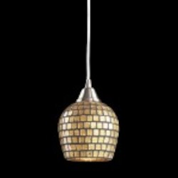 528-1GLD - Fusion Collection Pendant Lighting