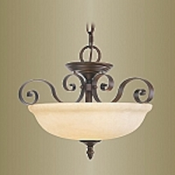 Manchester Collection Imperial Bronze Finish Pendant – 6149-58
