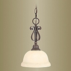 Manchester Collection Imperial Bronze Finish Mini Pendant – 6150-58