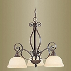Manchester Collection Imperial Bronze Finish Chandelier – 6153-58
