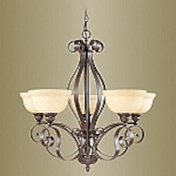 Manchester Collection Imperial Bronze Finish Chandelier – 6155-58