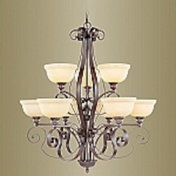 Manchester Collection Imperial Bronze Finish Chandelier – 6159-58