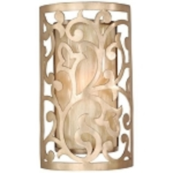 "Philippe Collection 1-Light 12"" Parisian Wall Sconce with French Ice Glass 73-11"