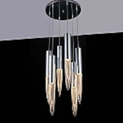 Talon 6 Light Pendant In Chrome Bulbs Inc