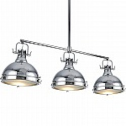 Essex 3 Light Island Pendant in Chrome - B-KM031-3-CR